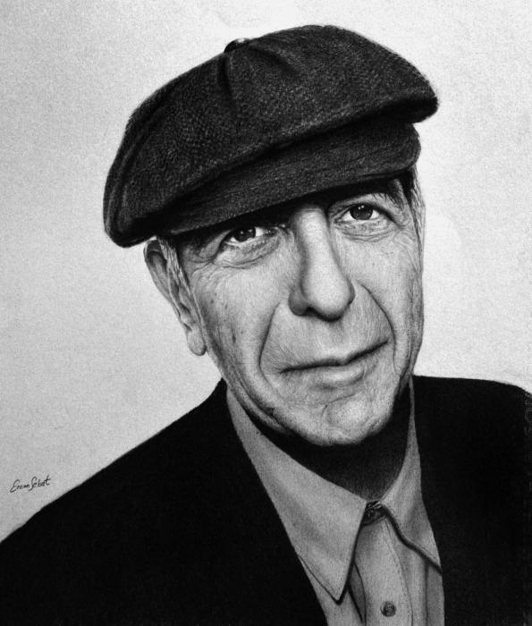 Leonard Cohen by ercansebat
